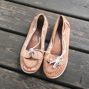 Aldo Genuine Leather Soft Deck Shoes